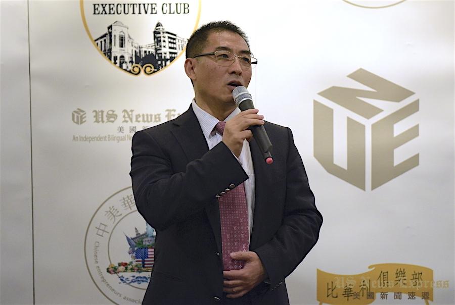 山东电子商务协会会长董新建。庞可阳摄