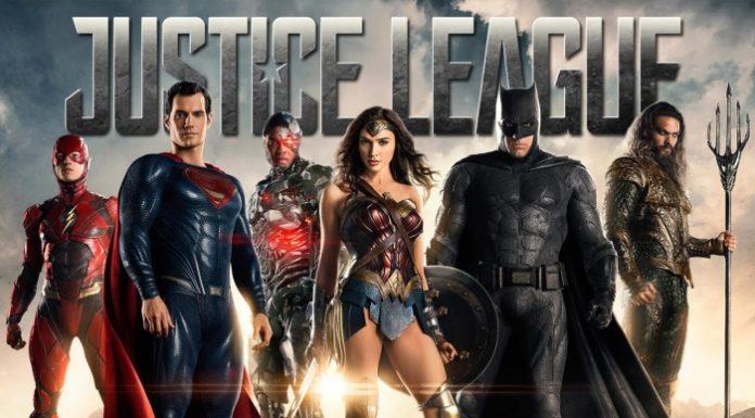 《正義聯盟》。電影海報