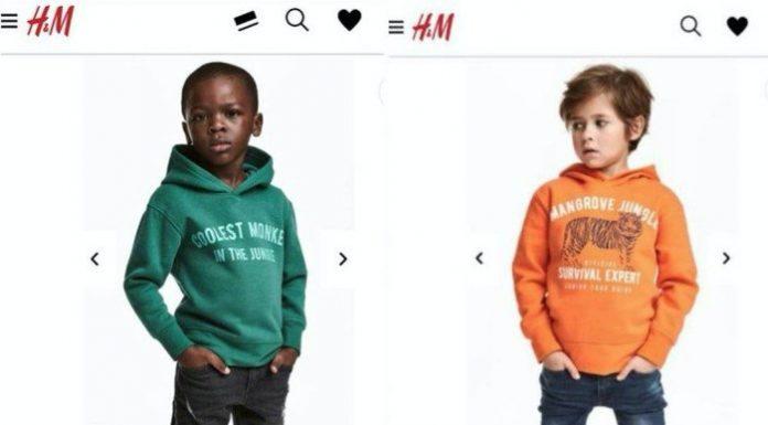 知名服装H&M再度被抨击有种族歧视嫌疑。网路图